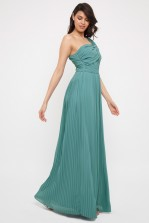TFNC Pemau Native Green Maxi Dress