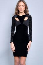 TFNC Sam Velvet Dress
