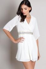 TFNC Denyse Embellished Waist Dress