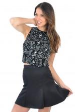 TFNC Tess Mini Fishtail Skirt