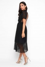 TFNC Nancy Black Midi Dress
