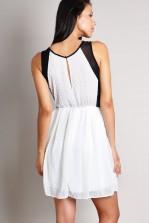 TFNC Narnia Skater Textured Dress