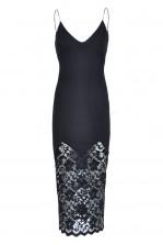 TFNC Nella Lace Slip Dress