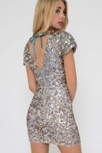 TFNC Hanisa Sequin Mini Dress