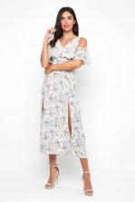 TFNC Neferetiti Floral Midi Dress