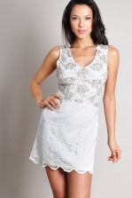 TFNC Verona Lace Dress