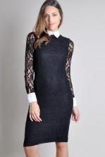 TFNC Copolla Body Con Lace Dress