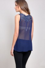 TFNC Elanor Embellished Top