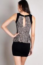 TFNC Mahis Peplum Dress