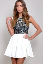 TFNC Petty Embellished Dress