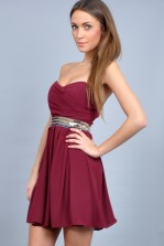 TFNC Avery Bandeau Dress