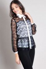 TFNC Sabrina Lace Shirt