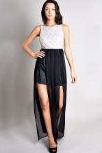 TFNC Brittney Embellished Maxi Dress