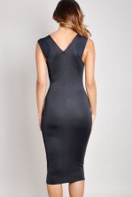 TFNC Sibila Animal Print Midi Dress