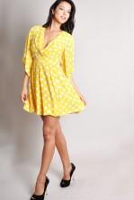 TFNC  Denyse V-neck Wrap Dress