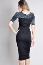 TFNC Prisca Midi Body Con Dress