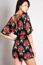 TFNC Carmen Floral Jumpsuit