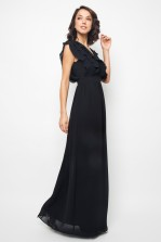 TFNC Tesla Black Maxi Dress