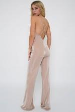 TFNC Carmen Nude Jumpsuit