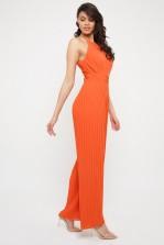 TFNC Sarae Orange Jumpsuit