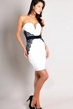 TFNC Suzanne Lace Body Con Dress