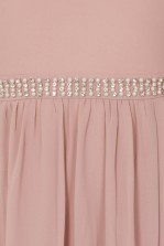 TFNC Laverne Pale Mauve Maxi Embellished Dress