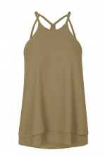 WalG Strappy Khaki Cami Top