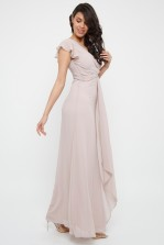 TFNC Juba Whisper Pink Maxi Dress