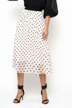 TFNC Weena Polka Dot Midi Skirt