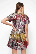 TFNC Tana Multi Sequin Tunic Dress