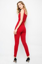 TFNC Sylvia Bordo Jumpsuit