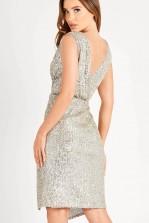 TFNC Rimi Sage Green Midi Dress