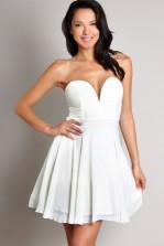 TFNC Nelle Plunge Neckline Prom Dress