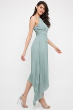 TFNC Morely Green Lily Hi-Lo Maxi Dress