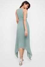 TFNC Morely Green Lily Hi-Lo Maxi Dress