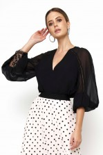 TFNC Arya Black Top