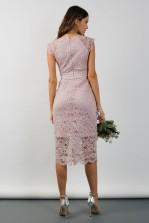 TFNC Verona Mink Midi Dress