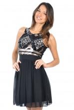 TFNC Izia Aztec Sequin Dress