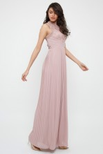 TFNC Naiara Pale Mauve Maxi Dress