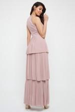 TFNC Veerle Pale Mauve Maxi Dress