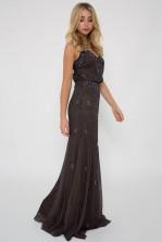 Lace & Beads Keeva Stone Maxi Dress
