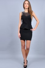 TFNC Caitlin Peplum Dress