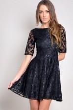 TFNC Flower Lace Dress