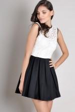 TFNC Chelsea Crochet Dress
