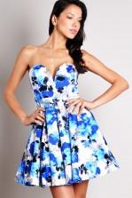 TFNC Geri Bandeau Prom Dress