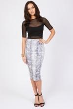 TFNC Amanda Midi Skirt