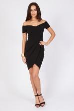 TFNC Carel Black Off Shoulder Dress
