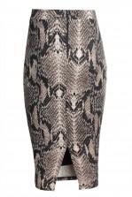 TFNC Rika Snake Midi Skirt