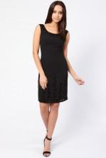 Lace & Beads Missy Black Embellished Dress