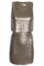 TFNC Camilla Gold Sequin Dress